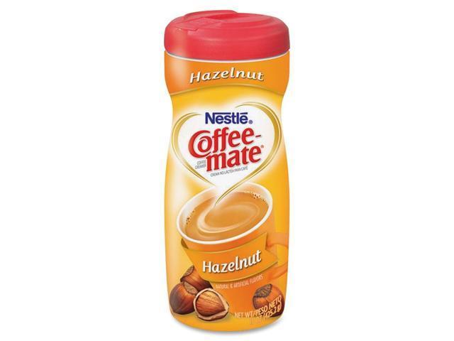 Coffee-mate 49400 Hazelnut Creamer Powder, 15-oz Plastic Bottle