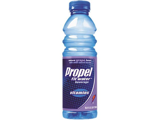 Propel Fitness Water 30078 Flavored Water, Grape, Plastic Bottle, 500 mL, 24/Carton