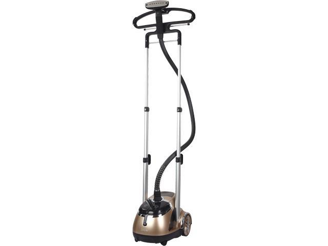 SALAV GS49-DJ GOLD Professional Dual Bar Garment Steamer with Stainless Steel Nozzle and Foot Pedal Controls, 1500-Watt Gold
