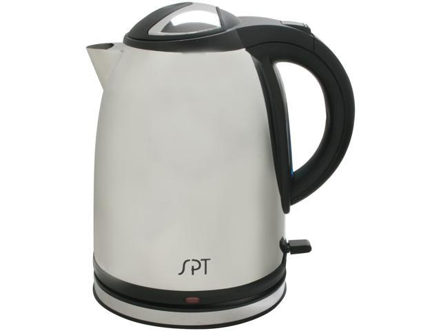 Sunpentown SK-1268S Stainless Steel 1.2L Stainless Cordless Electric Kettle