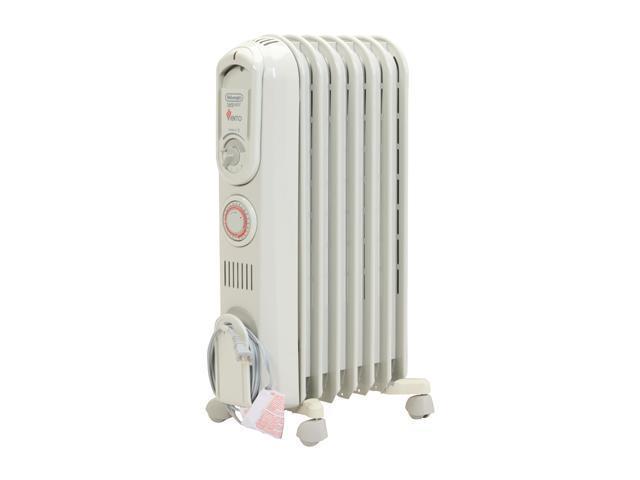 Delonghi TRV0715T VEnto 1500W Oil Filled Radiator Heater
