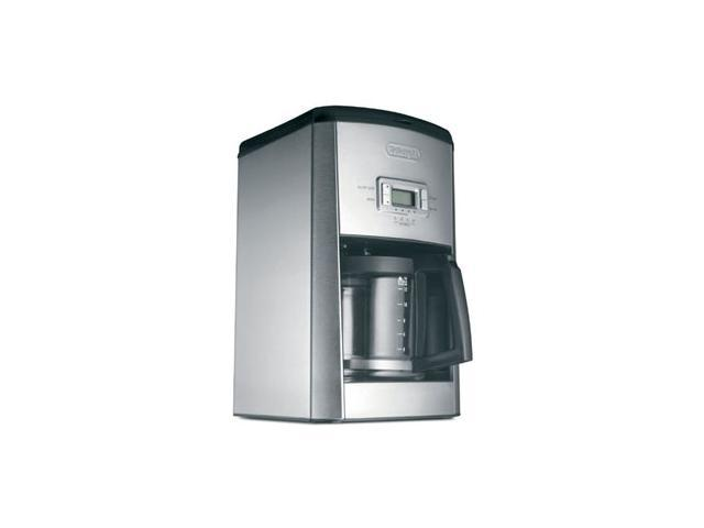 DeLonghi DC414T Black & Stainless Steel 14 Cup Programmable Glass Automatic Drip Coffee Maker