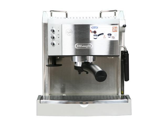 Delonghi Ec702 15 Bar Pump Driven Machine Silver Newegg Com