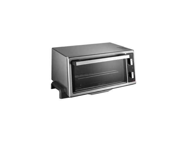 DeLonghi EO420 Stainless Steel 4-Slice Toaster Oven