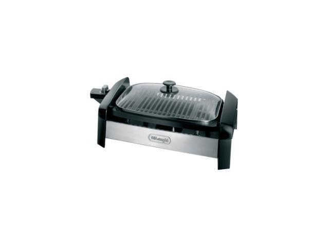 Delonghi Indoor Electric Grill ~ Delonghi indoor grill bg black newegg