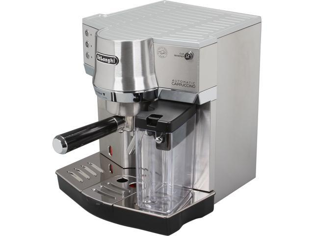 DeLonghi EC860 15 Bar Pump Driven Machine Silver