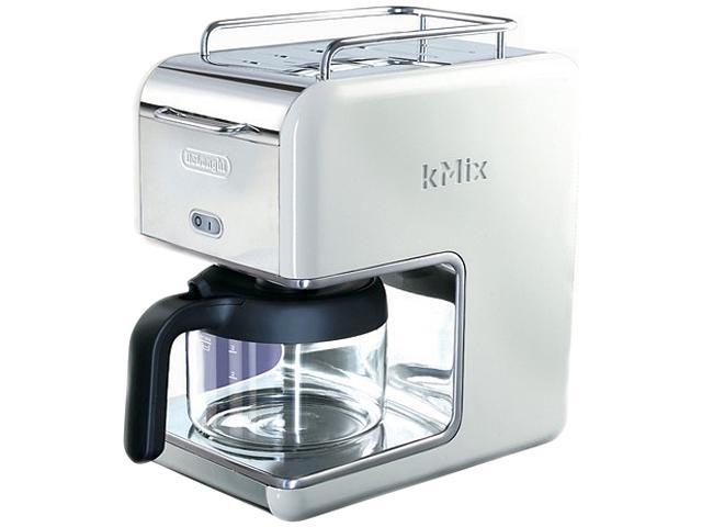 DeLonghi DCM02WHITE White 5 Cup kMix Drip Coffee Maker