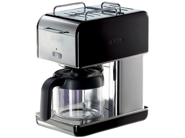 DeLonghi DCM04BLACK Black 10 Cup kMix Drip Coffee Maker