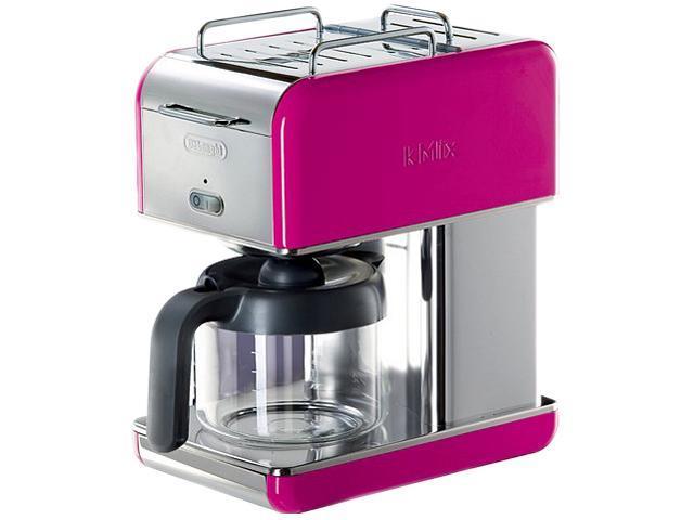DeLonghi DCM04MAGENTA Magenta 10 Cup kMix Drip Coffee Maker