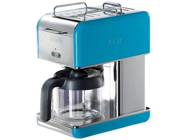 DeLonghi DCM04BLUE Blue 10 Cup kMix Drip Coffee Maker - Newegg.com