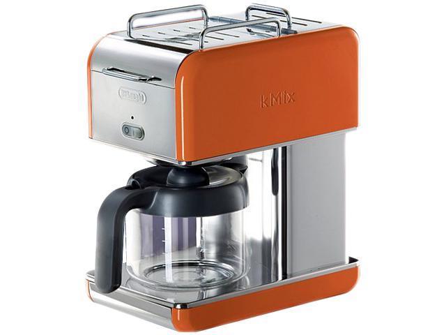 DeLonghi DCM04ORANGE Orange 10 Cup kMix Drip Coffee Maker