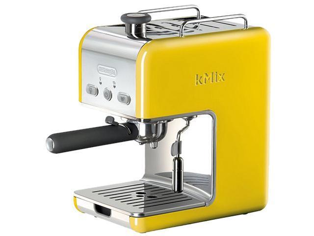 DeLonghi DES02YELLOW Kmix 15 Bars Pump Espresso Yellow