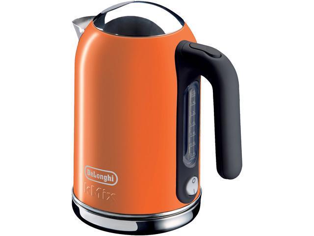 DeLonghi DSJ04ORANGE Orange 1.6 Liter (54oz) Kettle