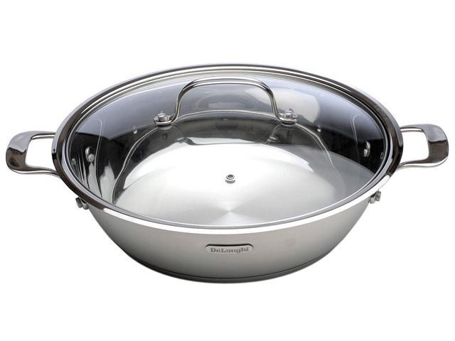 DeLonghi OS-03 5-1/2-Quart Cook and Serve Pan with Lid