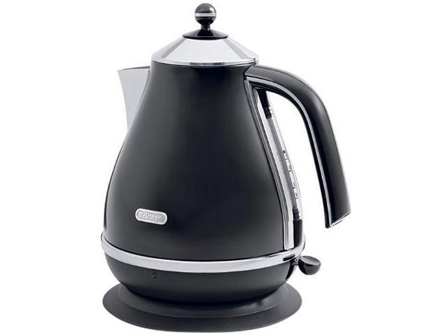 DeLonghi KBO1401BK Black Icona 57.5 oz. Electric Kettle