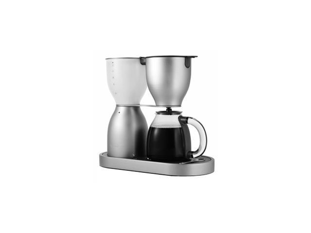 DeLonghi DCM900 10-Cup Seamless Brushed Aluminum Coffee Maker With Exclusive Dual Heating System