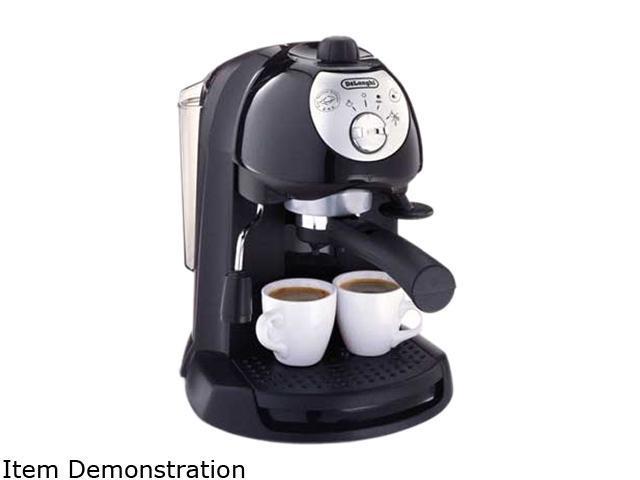 DeLonghi BAR32 Pump Espresso/Cappuccino Maker, Includes the Sempre Crema Filter Holder Black