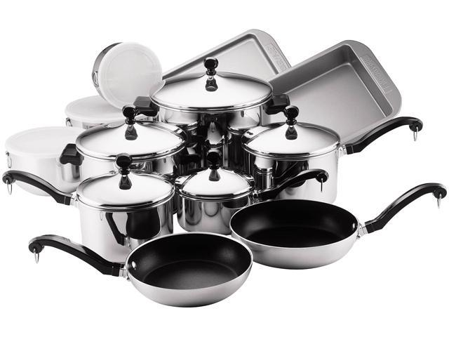 Farberware 71238 Classic Series 17-Piece Set, Silver