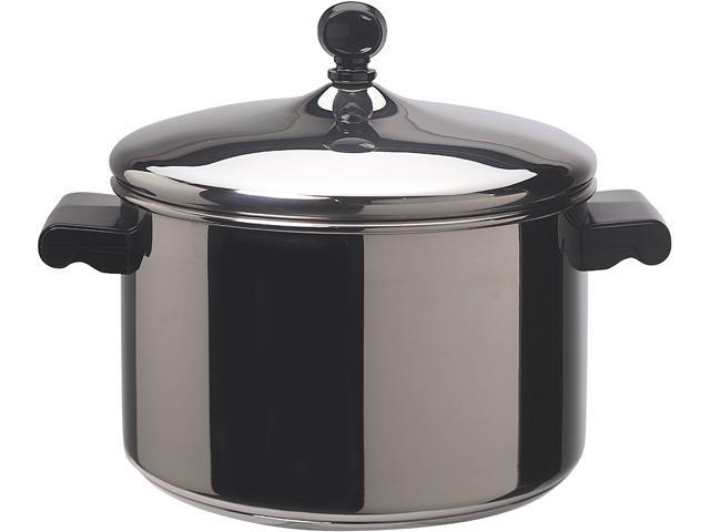 FARBERWARE 50004 Classic Stainless Steel 4-Quart Covered Saucepot