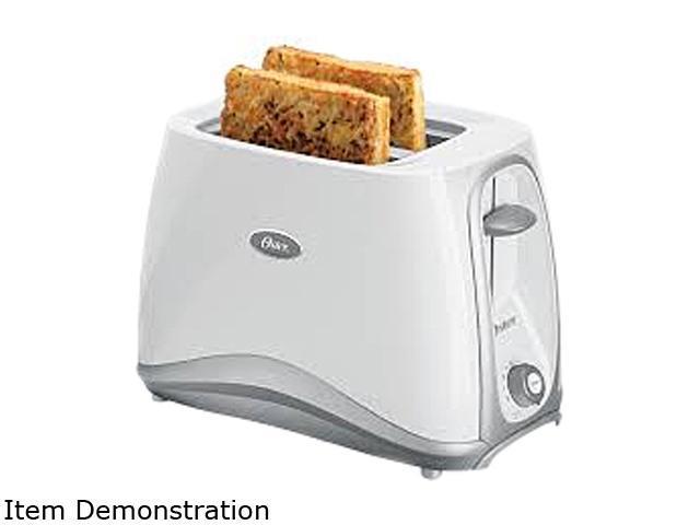 OSTER 6544-013 White 2 Slice Toaster