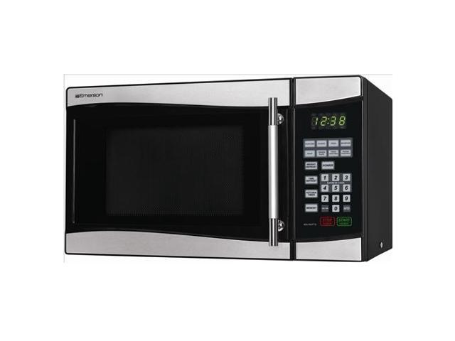 Emerson 900 Watts Microwave Oven Mw8889sb Stainless Steel