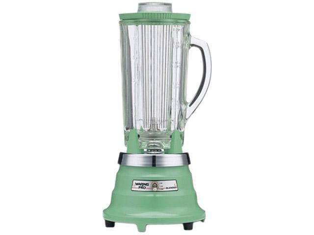 Waring Pro PBB212 Retro Green 40 oz. Jar Size Professional Food and Beverage Blender 2 speeds