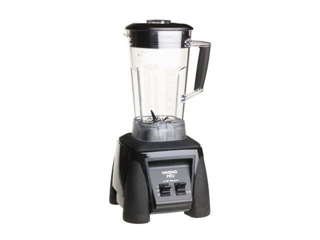 Waring Pro MX1000R Black 64 oz. Jar Size Professional Blender 2 speeds
