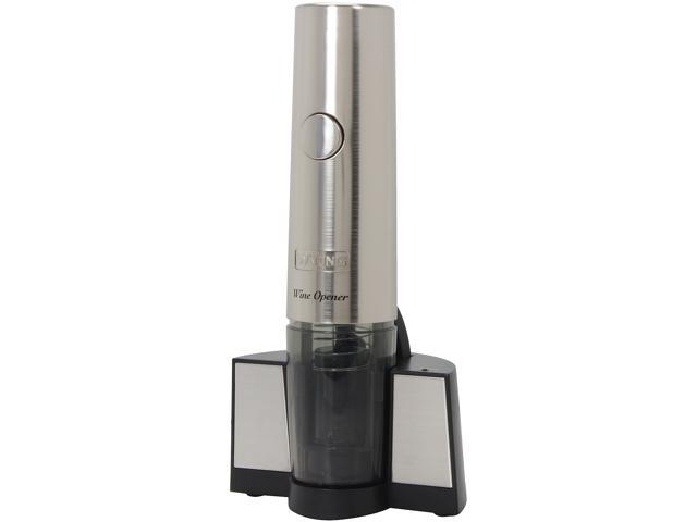 Waring Pro WO40 Rechargeable Cordless Wine Opener Stainless Steel
