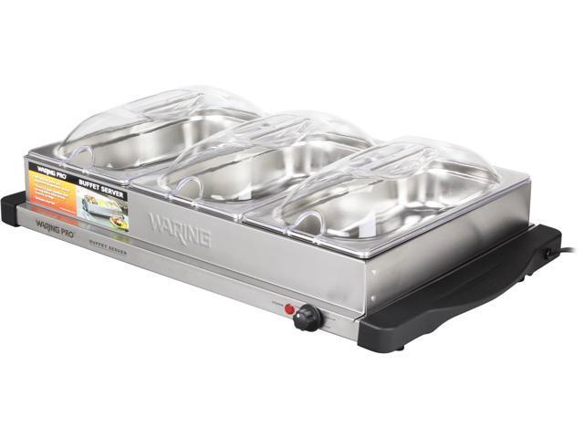 Waring Pro BFS50B 400-Watt Professional Buffet Server and Warming Tray