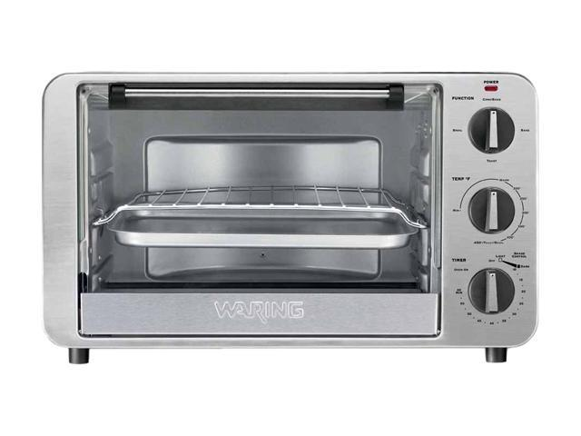 Waring Pro TCO600 Stainless Steel 1500-Watt Convection Oven