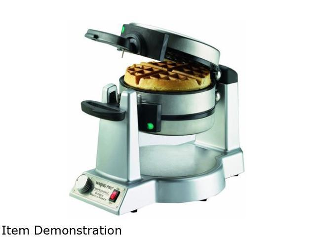 Waring Pro WWM1200PC Stainless Steel Double Belgian Waffle Maker