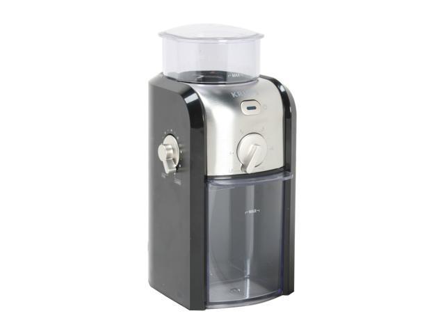 KRUPS GVX2-12 Black / Silver Coffee Grinder