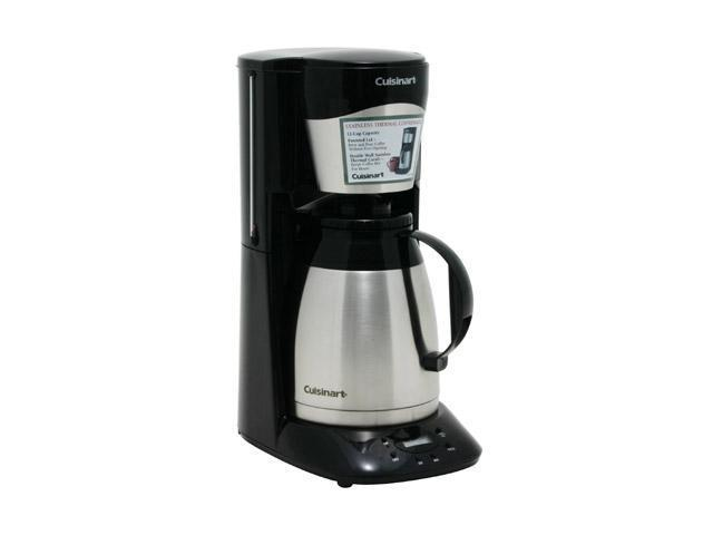 Cuisinart DTC-975BKN Black 12-Cup Programmable Thermal Coffeemaker