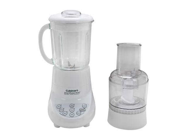 Cuisinart BFP-703 White 40 oz. Jar Size SmartPower Duet Blender / Food Processor