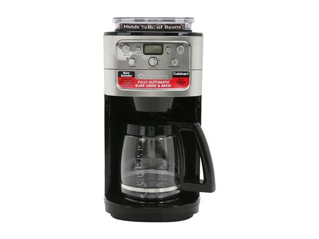 Cuisinart DGB-700BC Chrome Grind & Brew 12-Cup Automatic Coffeemaker
