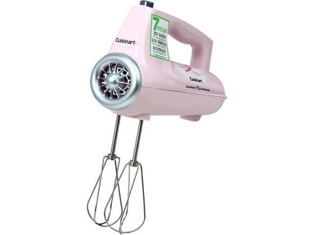 Cuisinart CHM-7PK PowerSelect 7-Speed Electronic Hand Mixer Pink