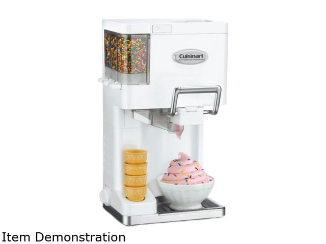 Home Ice Cream Maker Part - 24: Cuisinart ICE-45 Mix It In Soft Serve Ice Cream Maker