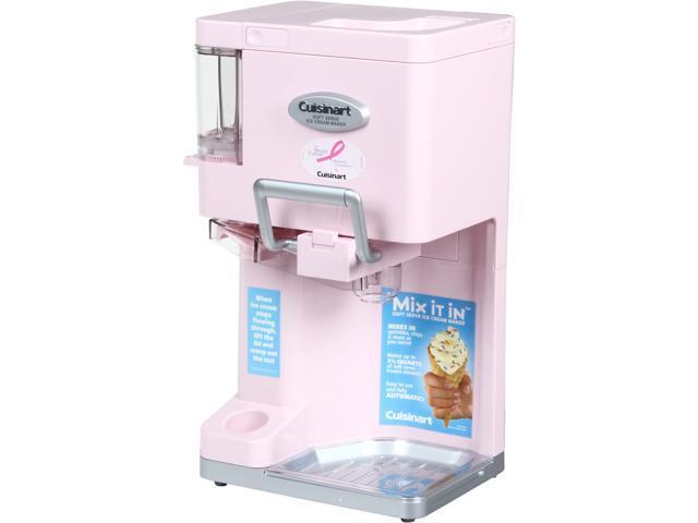 Cuisinart ICE-45PK Mix It In Soft Serve Ice Cream Maker (Pink)