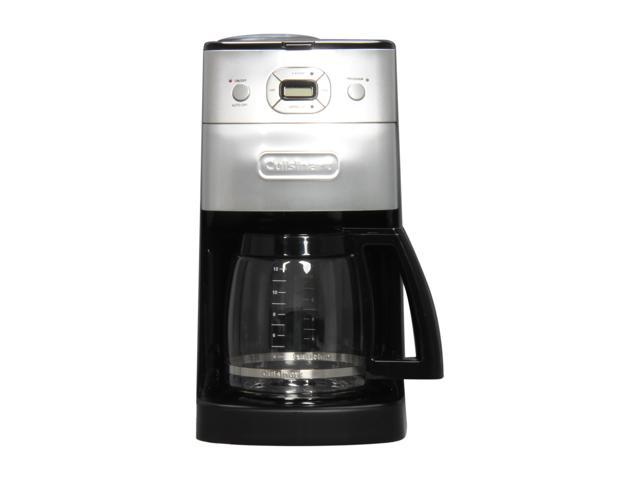 Cuisinart DGB-625BCFR Black/Steel Grind & Brew 12-Cup Automatic Coffeemaker