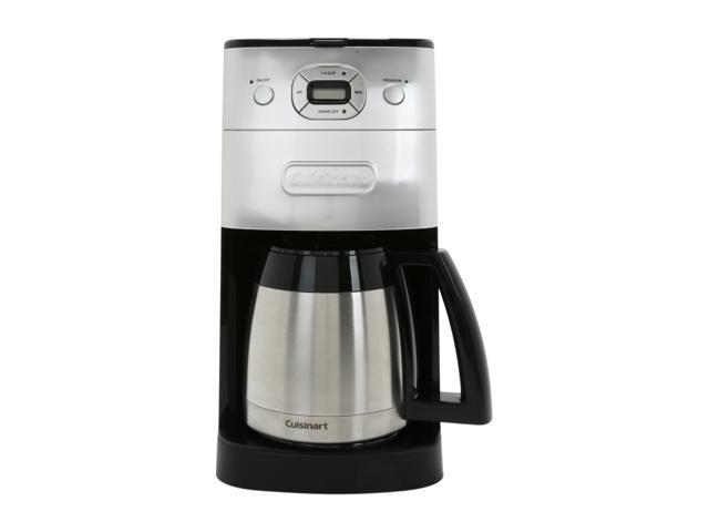 Cuisinart DGB-650BCFR Chrome Grind & Brew Thermal 10-Cup Automatic Coffeemaker