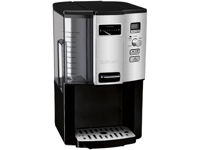 Cuisinart DCC-3000 Black/Steel Coffee on Demand 12-Cup Programmable Coffeemaker