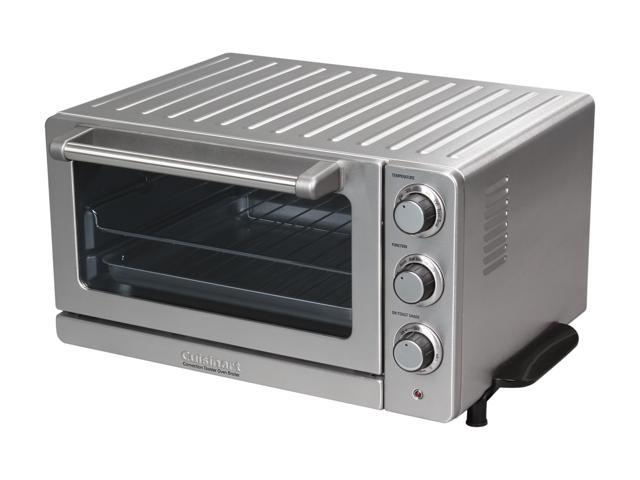 Cuisinart TOB-60N Stainless Steel Toaster Oven Broiler with Convection