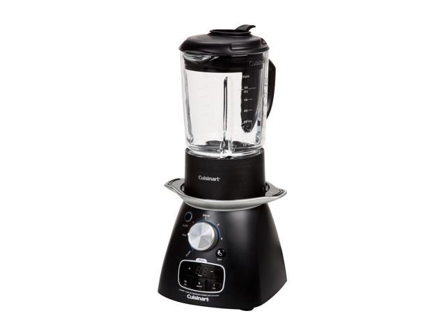 Cuisinart SBC-1000FR Black 48 oz. of hot liquids and 56 oz. of cold liquids Jar Size Blend and Cook Soup Maker 4 speeds