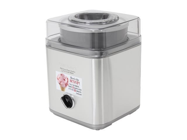 Cuisinart ICE-30BC Pure Indulgence 2 Qt. Frozen Yogurt-Sorbet & Ice Cream Maker