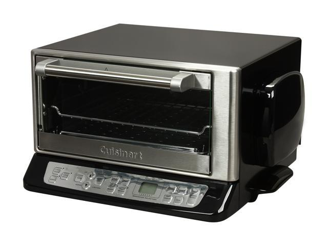 Cuisinart CTO-395PCFR Black with stainless steel accents Convection Toaster Oven Broiler