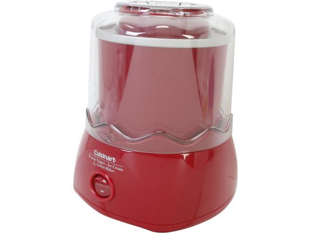 Cuisinart ICE-20RFR Automatic Frozen Yogurt-Ice Cream & Sorbet Maker (Red)