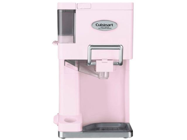 Cuisinart ICE-45PKFR Mix It In Soft Serve Ice Cream Maker, Pink