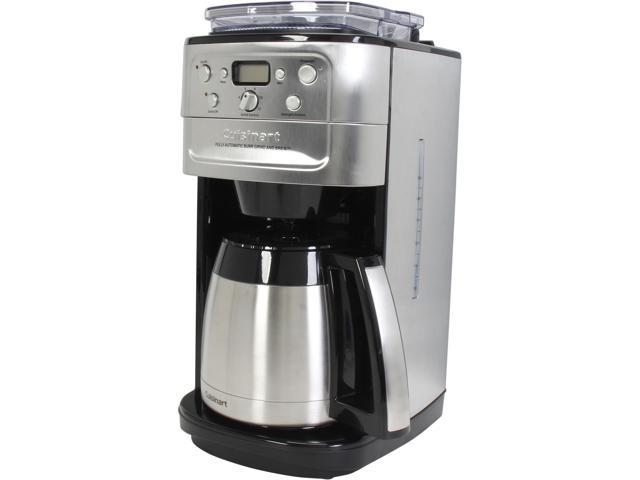 Cuisinart Programmable Grind & Brew 12-Cup Automatic Coffeemaker, DGB-900BC