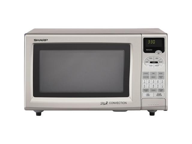 Sharp 0.9 Cu.Ft. Convection Microwave Oven R-820JS