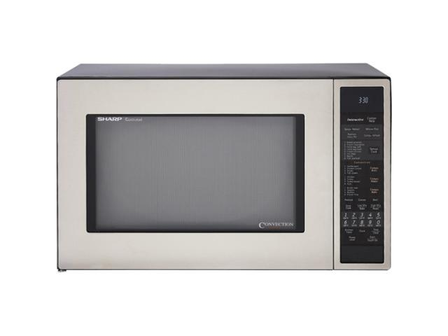 Sharp 900 Watts 1.5 cu.ft. Microwave Oven R930CS Sensor Cook Stainless Steel